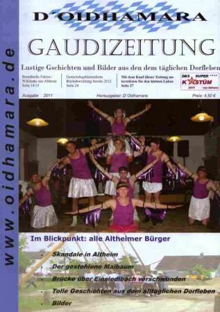 Deckblatt Gaudizeitung  komprimiert