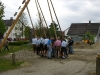 Aufstellen Maibaum 2010